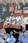 Zloty, le Petit Chaperon rouge prend soin du loup qu'elle a heurté en scooter et de sa grand-mère.Une version très personnelle du Petit Chaperon rouge : Zloty / Tomy Ungerer. - Paris : l'Ecole des loisirs, 2009.impriméBDP de l'Ain