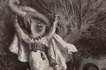 Le petit Chaperon rouge dans le lit de sa grand-mère avec le loupExtrait des Contes de Perrault/ Charles Perrault ; dessins par Gustave Doré ; préface de P.-J. Stahl. - Paris : Hetzel, 1862.gravureBibliothèque de Bourg-en-Bresse