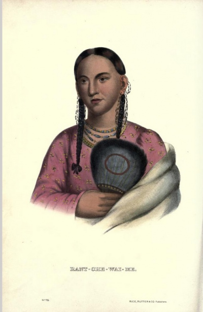 Rant Che Wai Me.<br>History of the Indian Tribes of North America.<br>Thomas McKenney