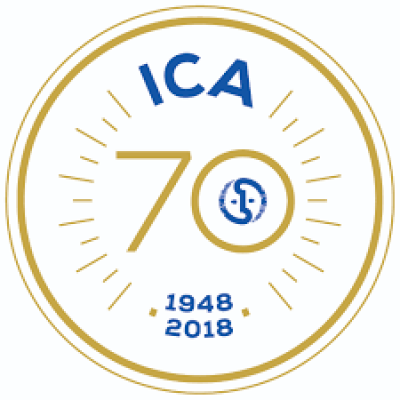 Logo 70 ans ICA. ©ICA<br>